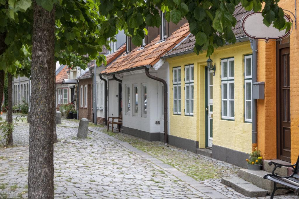 Die Altstadt von Eckernförde